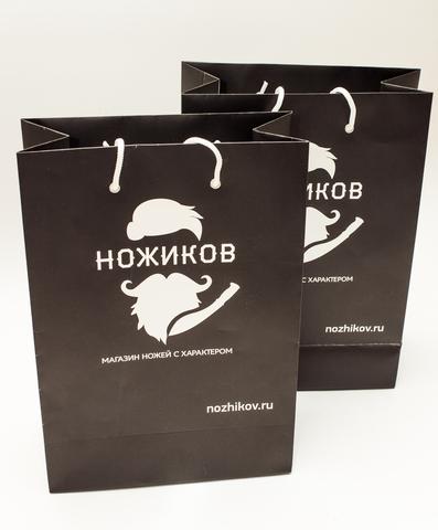 Подарочный пакет - Nozhikov.ru