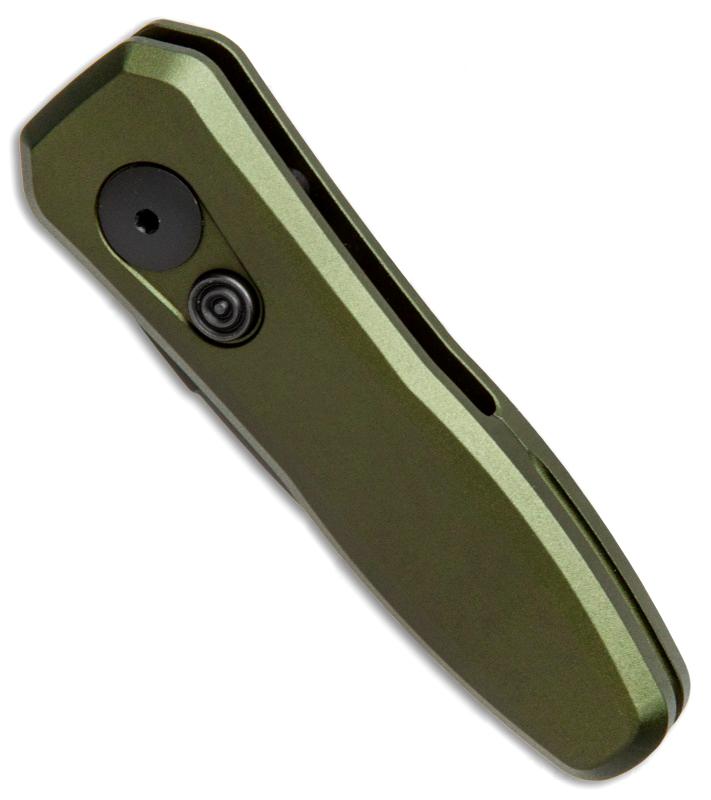 Фото 9 - Складной автоматический нож Kershaw Launch 4 OD Green K7500OLBLK, сталь CPM 154, рукоять алюминий