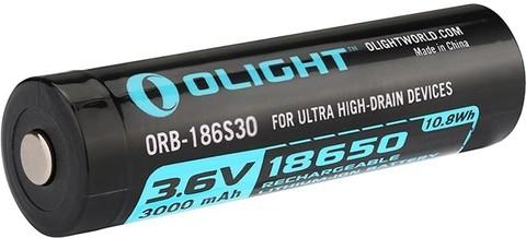 Аккумулятор Li-ion Olight HDC ORB-186S35 18650 3,7 В. 3500 mAh. Вид 1
