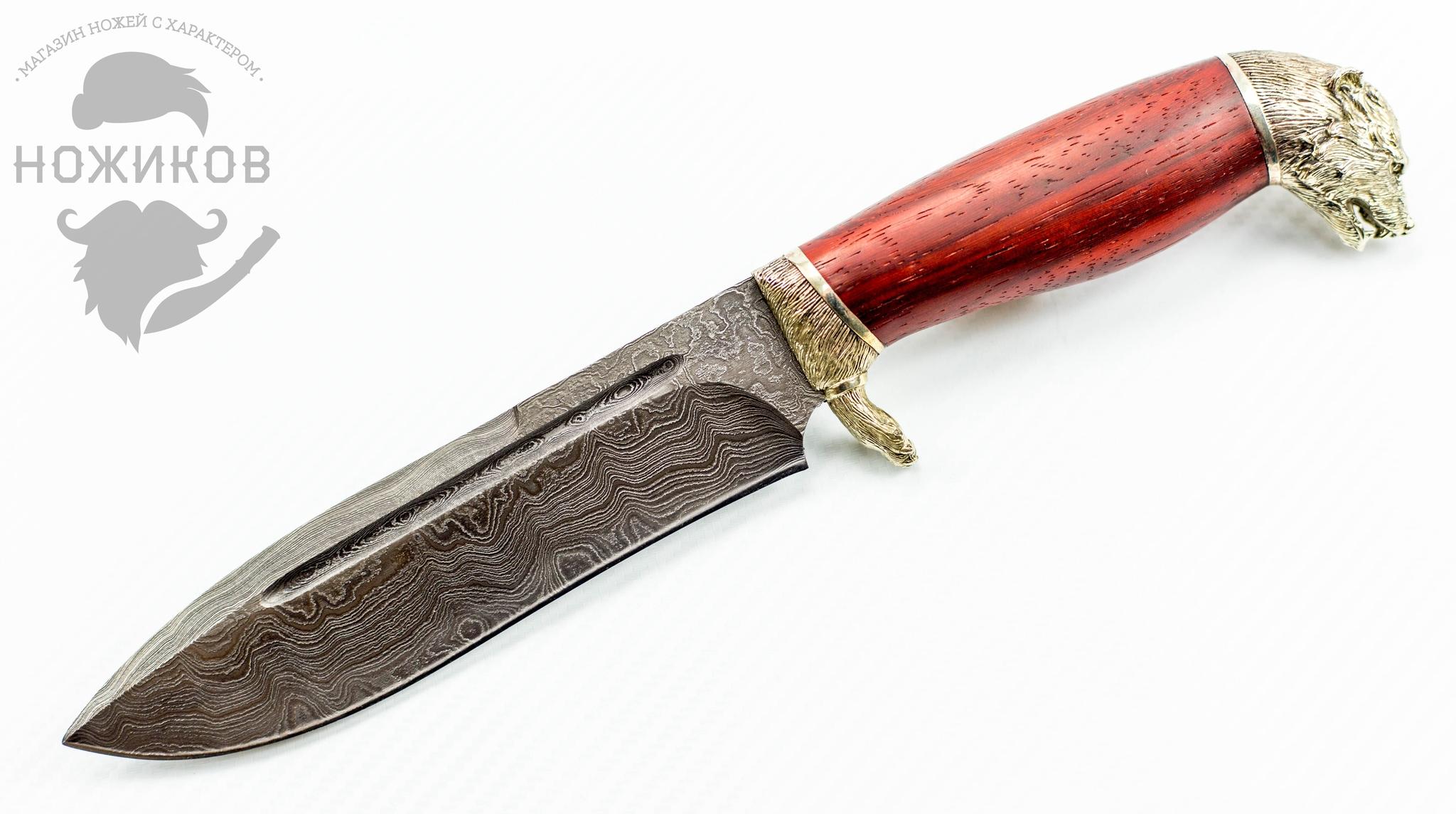 Авторский Нож из Дамаска №55, Кизляр
