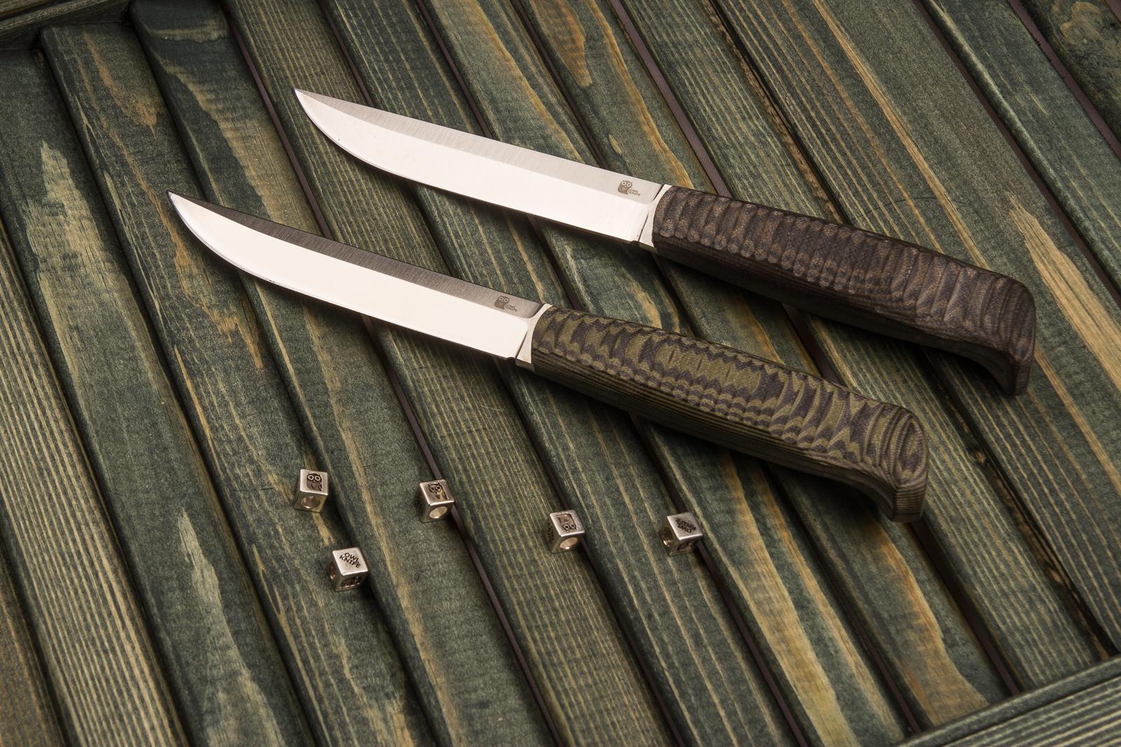 Фото 9 - Финка с грибком и каплей North, N690 от Owl Knife