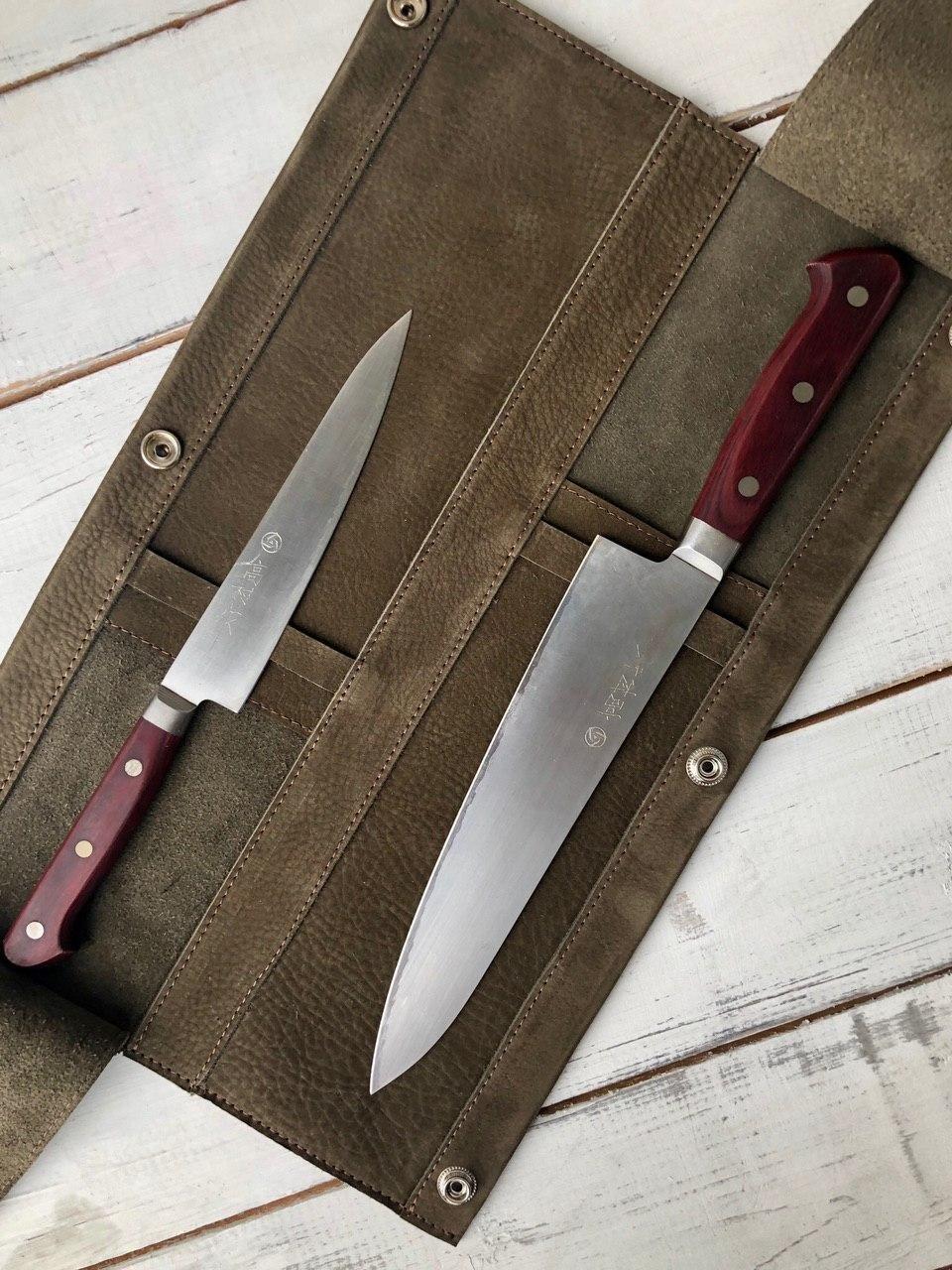 Сумка (скрутка) для 2 кухонных ножей Knife to meet you BAG-DUO