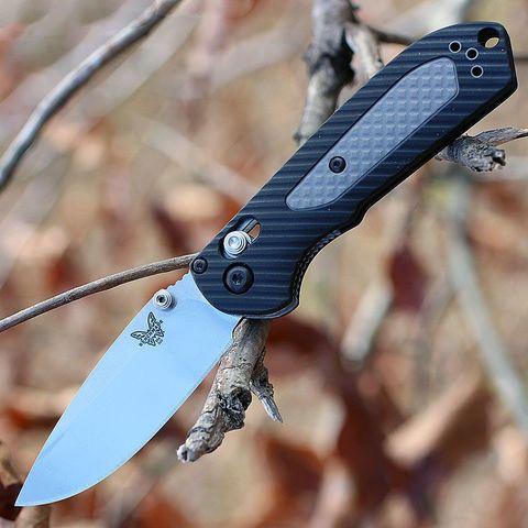 Нож складной Benchmade Mini Freek 565, сталь CPM-S30V, рукоять пластик/версафлекс. Вид 1