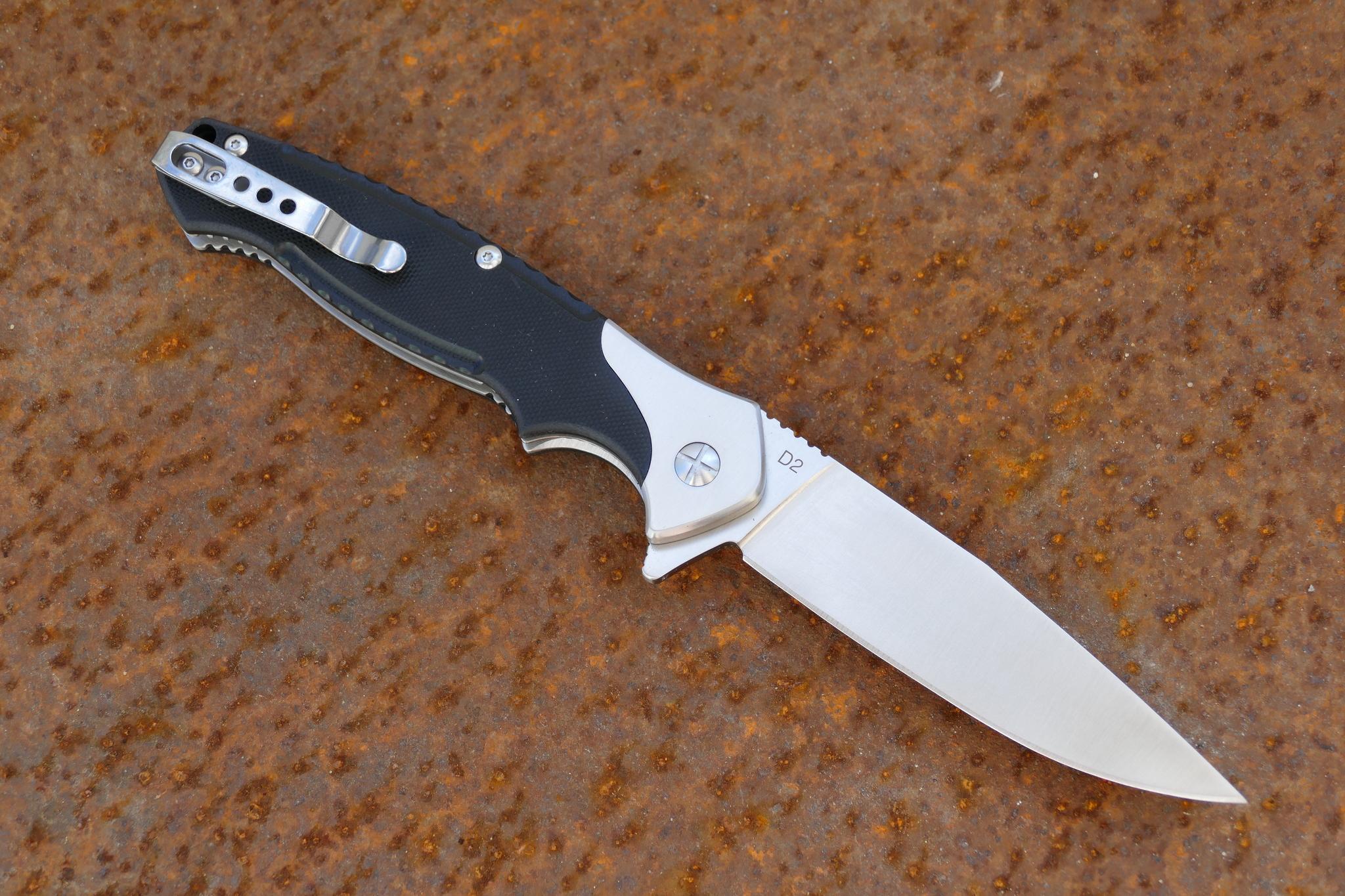 Фото 5 - Складной нож Секутор, сталь D2 от Steelclaw