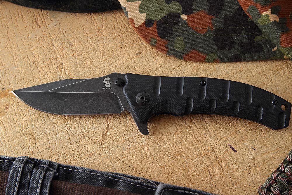 Складной нож ODRA BLACK, Mr Blade нож складной rat 1 black blade black handle d2 tool steel