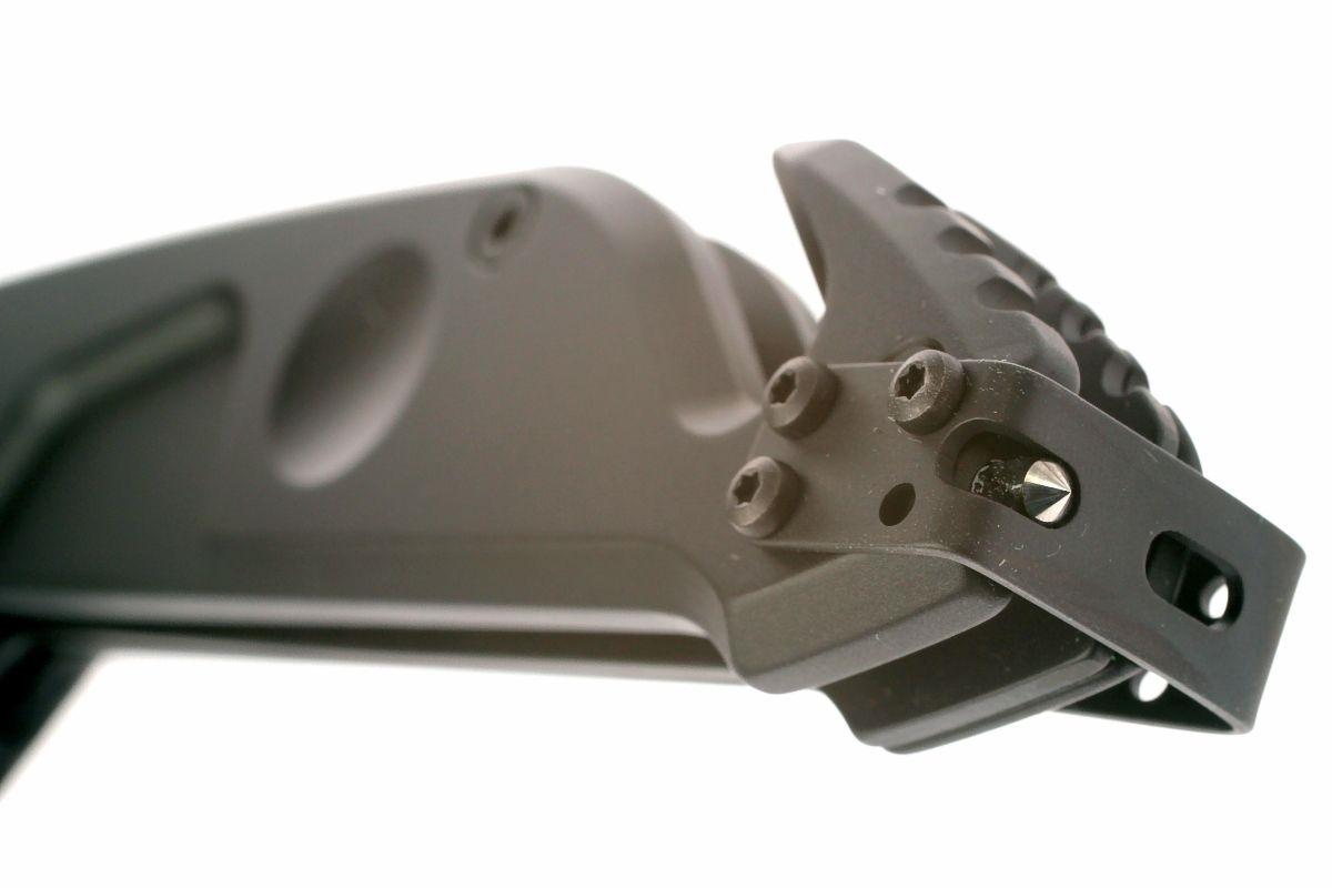Фото 9 - Складной нож Extrema Ratio MF1 Black With Belt Cutter, сталь N690, рукоять алюминий