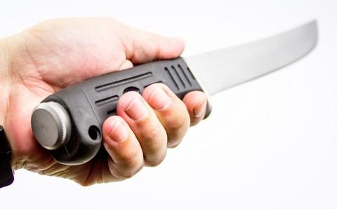 Нож мачете Бебут 5, сталь 440C. Вид 3