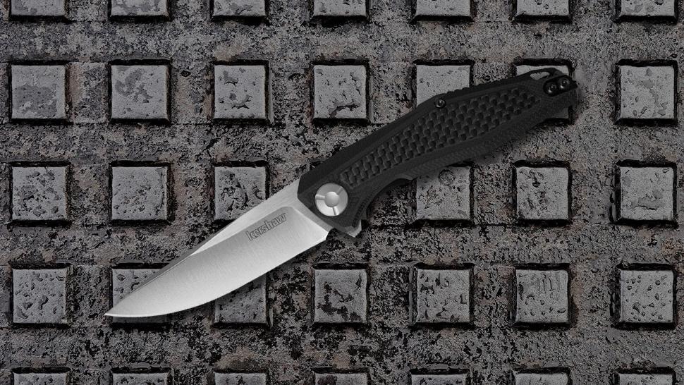 Фото 6 - Нож складной Atmos - Kershaw 4037, сталь 8Cr13MoV, рукоять G10/карбон