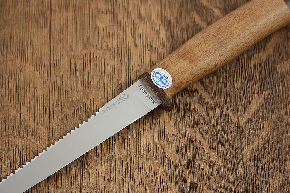 Нож разделочный Белуга дерево, АиР нож разделочный белуга береста аир