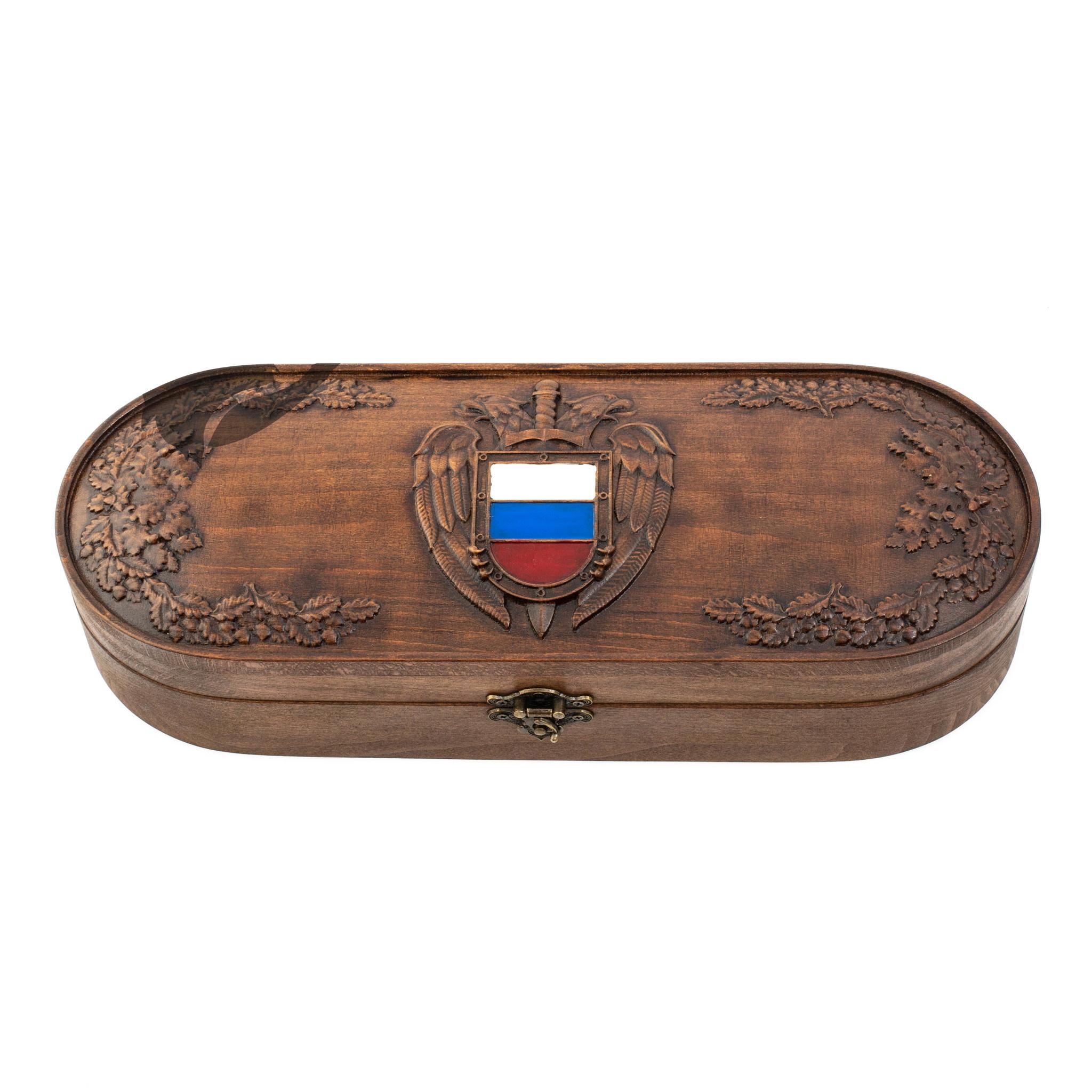 Подарочная шкатулка для ножей Россия