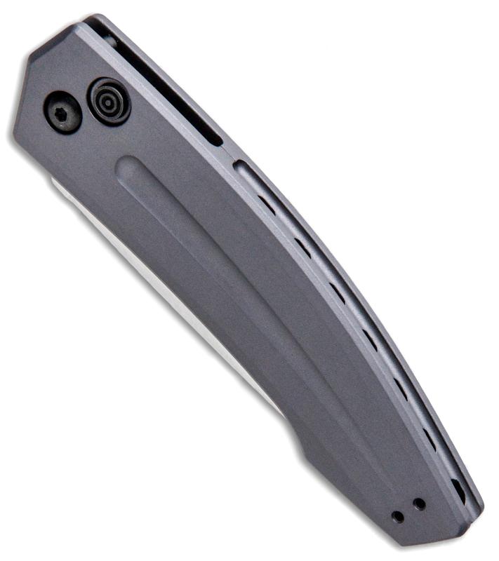 Фото 6 - Складной автоматический нож Kershaw Launch 2 K7200GRYSW, сталь CPM 154, рукоять алюминий