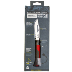 Складной Нож Opinel №8 VRI OUTDOOR EARTH, нержавеющая сталь Sandvik 12C27, красный, 001714, фото 5