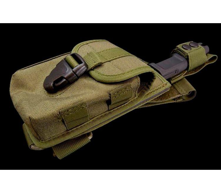 Фото 11 - Нож с фиксированным клинком + набор для выживания Extrema Ratio Ontos, Green Sheath (зеленый чехол), сталь Bhler N690, рукоять прорезиненный форпрен