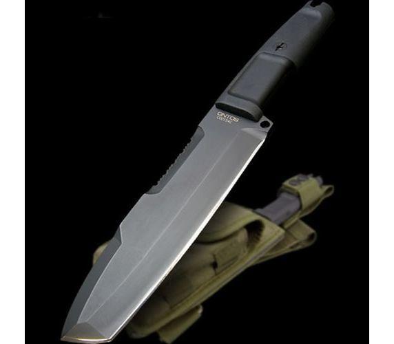 Фото 12 - Нож с фиксированным клинком + набор для выживания Extrema Ratio Ontos, Green Sheath (зеленый чехол), сталь Bhler N690, рукоять прорезиненный форпрен