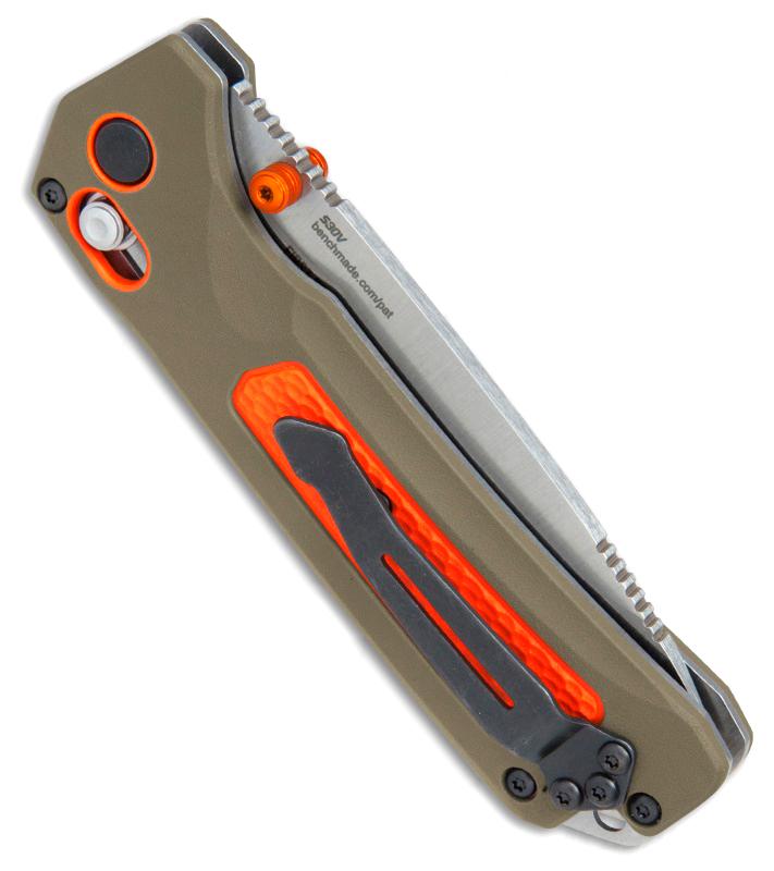 Фото 5 - Нож складной Benchmade Grizzly Ridge™ 15061, сталь CPM-S30V, рукоять пластик/версафлекс