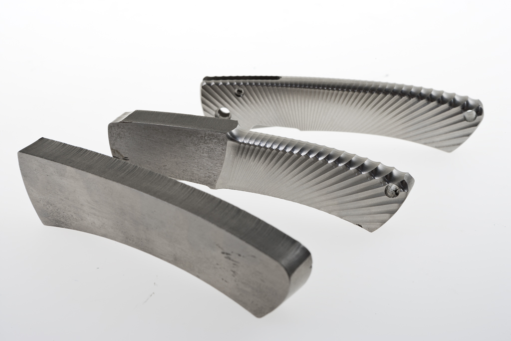 Фото 5 - Нож складной LionSteel TS1 GS, сталь M390, рукоять титан от Lion Steel