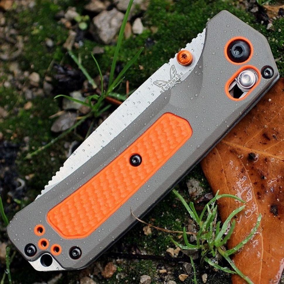 Фото 10 - Нож складной Benchmade Grizzly Ridge™ 15061, сталь CPM-S30V, рукоять пластик/версафлекс