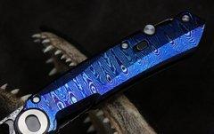 Складной нож CKF Terra, дамасская сталь, рукоять Timaskus, фото 3