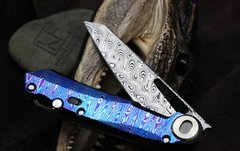 Складной нож CKF Terra, дамасская сталь, рукоять Timaskus, фото 8