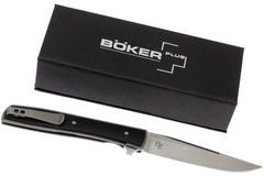 Нож складной Urban Trapper G10 - Boker Plus 01BO732, сталь VG-10 Satin, рукоять титан/стеклотекстолит G10, фото 5