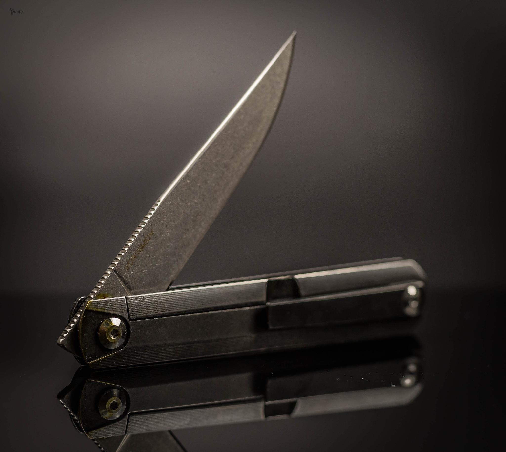 Складной нож Ben Dark, Replika Ziebr