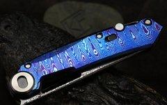 Складной нож CKF Terra, дамасская сталь, рукоять Timaskus, фото 9