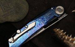 Складной нож CKF Terra, дамасская сталь, рукоять Timaskus, фото 11