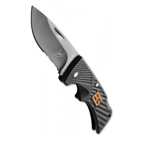 Нож складной Gerber Bear Grylls Compact Scout, сталь 7Cr17MoV, рукоять полиамид. Вид 7