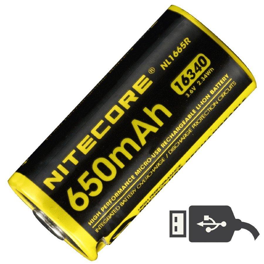 Аккумулятор Nitecore NL1665R