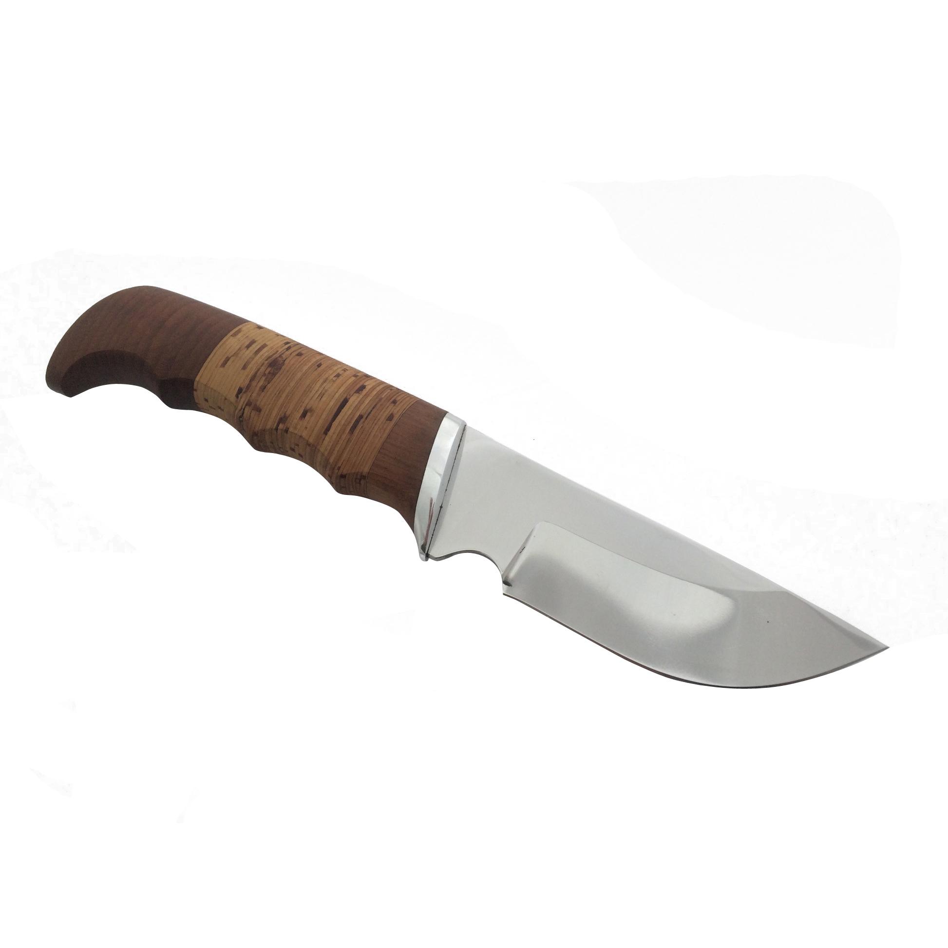 Фото 3 - Нож Бобр, сталь 95Х18, береста от Фабрика Баринова