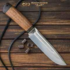 """Нож разделочный АиР """"Селигер"""", сталь ЭП-766, рукоять дерево, фото 4"""