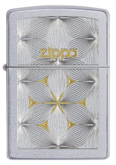 Зажигалка ZIPPO Classic с покрытием Satin Chrome™, гравировка