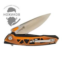Складной нож Nimo Panther, сталь 440C, оранжевый, фото 6