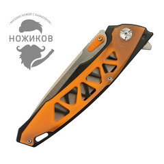 Складной нож Nimo Panther, сталь 440C, оранжевый, фото 7