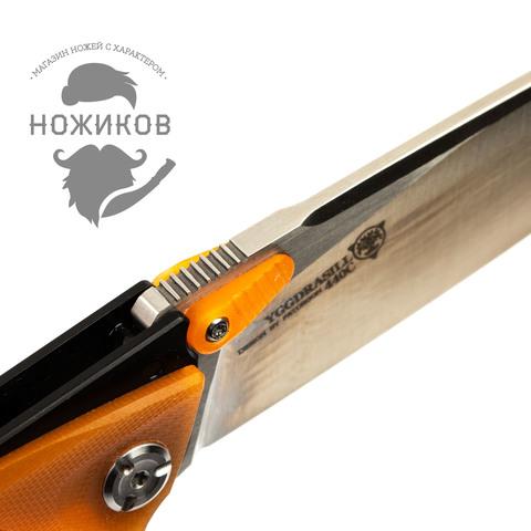 Складной нож Nimo Panther, сталь 440C, оранжевый. Вид 8