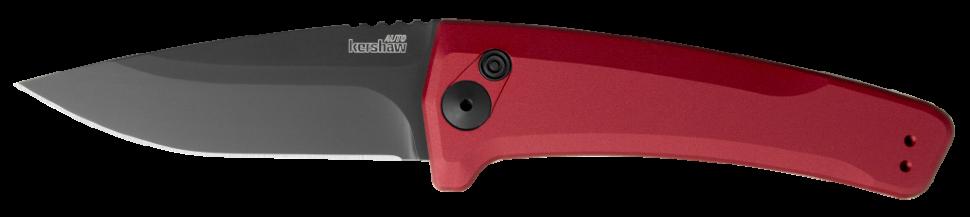Фото 8 - Полуавтоматический складной нож Launch 3 - Kershaw 7300RDBLK Red, сталь Crucible CPM® 154, рукоять анодированный алюминий, красный