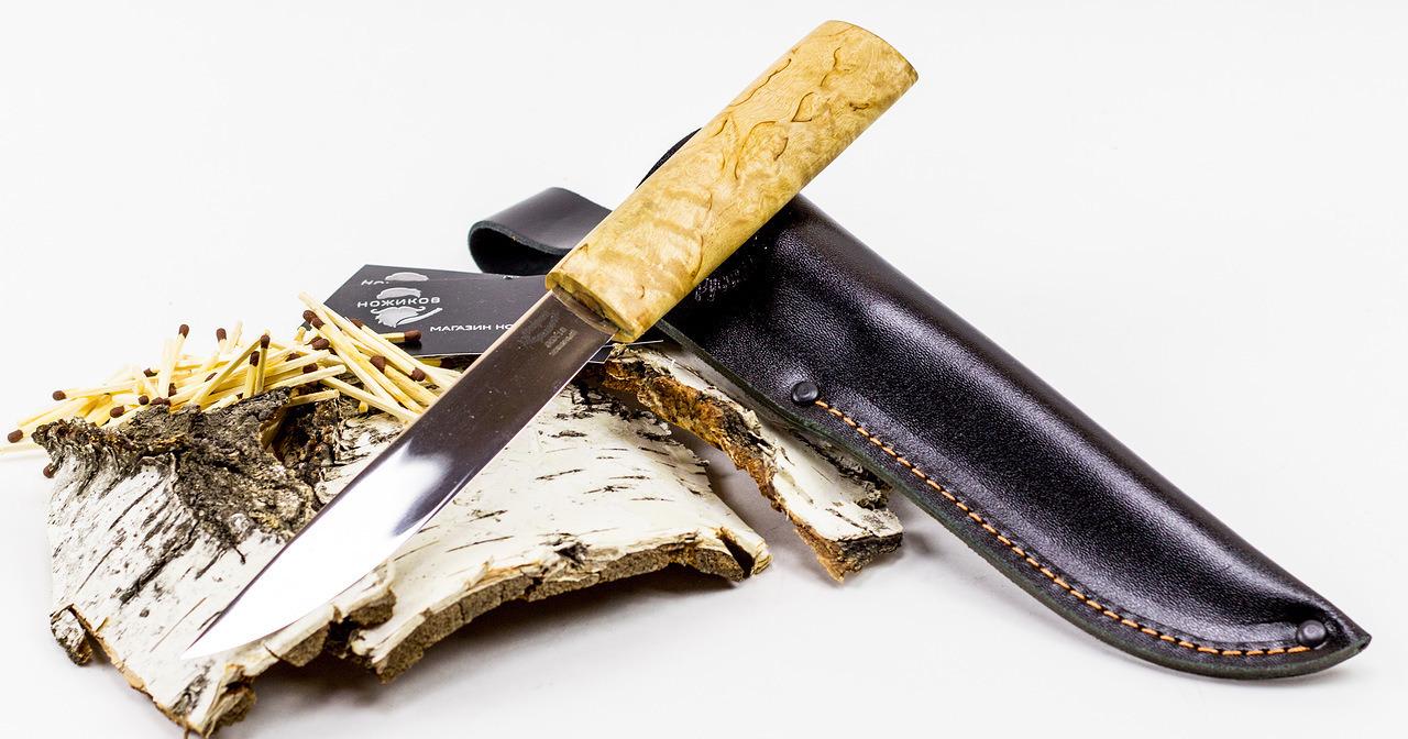 Фото 6 - Нож Якут, сталь 95х18 от Фабрика Баринова