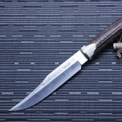 Охотничий нож Muela Gredos, сталь X50CrMoV15, рукоять резной олений рог, фото 5