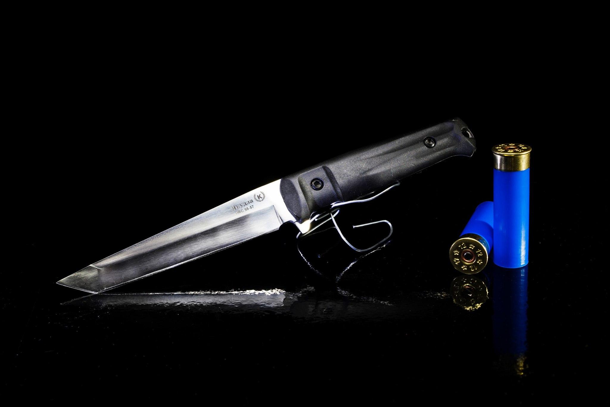 Фото 11 - Нож Якудза, сталь AUS-8 цмт, эластрон, Кизляр