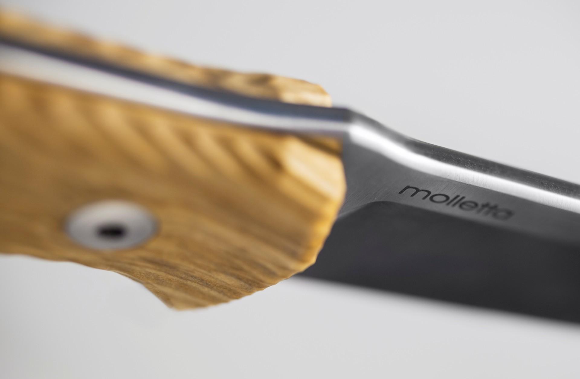 Фото 5 - Нож Lionsteel M5 UL, сталь Sleipner, рукоять оливковое дерево от Lion Steel