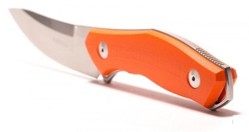 Фото 5 - Нож с фиксированным клинком Fantoni, C.U.T. Fixed, FAN/CUTFxBkOrKy, сталь CPM-S30V, рукоять cтеклотекстолит G-10, оранжевый