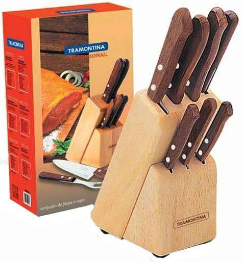 Набор из 7 ножей Tramontina Tradicional набор из 4 ножей tramontina dynamic разделочная доска