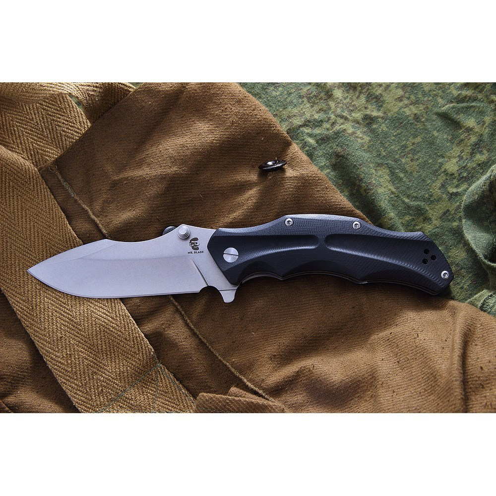 Фото 7 - Нож складной HT-1 Mr.Blade (Stone Washed)