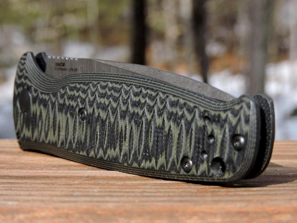 Фото 4 - Полуавтоматический нож Benchmade 4300-1 CLA (Composite Lite Auto), сталь 154CM, рукоять G10