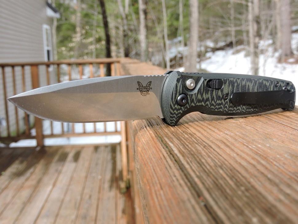 Фото 6 - Полуавтоматический нож Benchmade 4300-1 CLA (Composite Lite Auto), сталь 154CM, рукоять G10