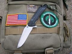 Складной нож Thermite KERSHAW 3880, сталь 8Cr13MOV Stonewashed, рукоять G10/сталь 410, фото 6