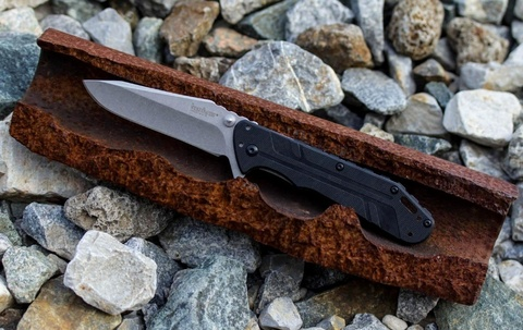 Складной нож Thermite KERSHAW 3880, сталь 8Cr13MOV Stonewashed, рукоять G10/сталь 410. Вид 9