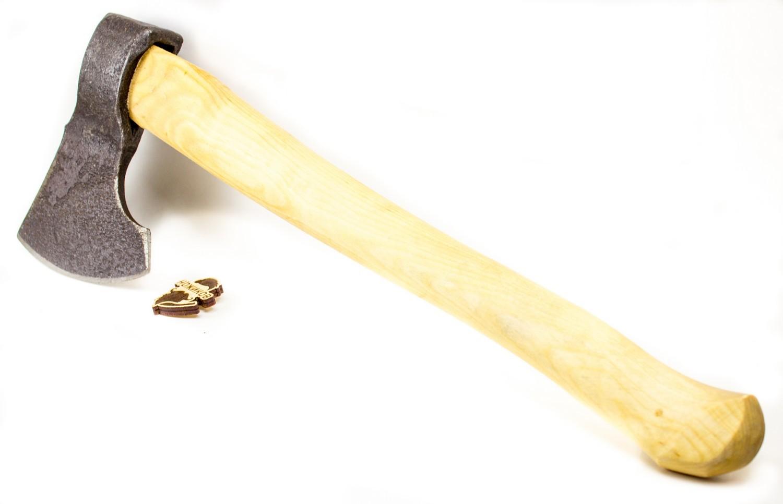 Фото 12 - Кованый топор ручной сборки Тигр