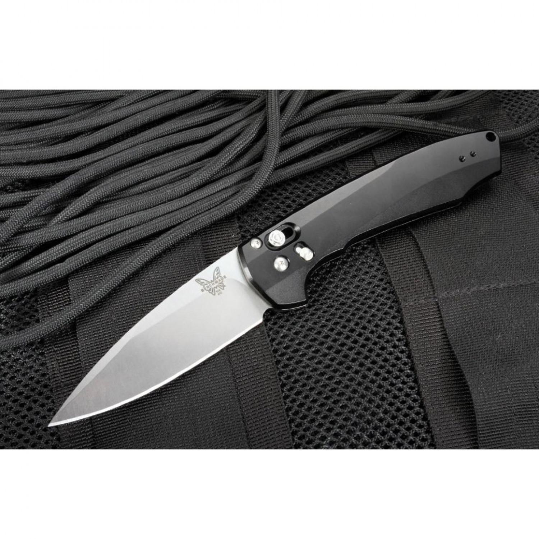 Фото 7 - Полуавтоматический нож Benchmade 490 Amicus, сталь CPM-S90V, рукоять алюминий