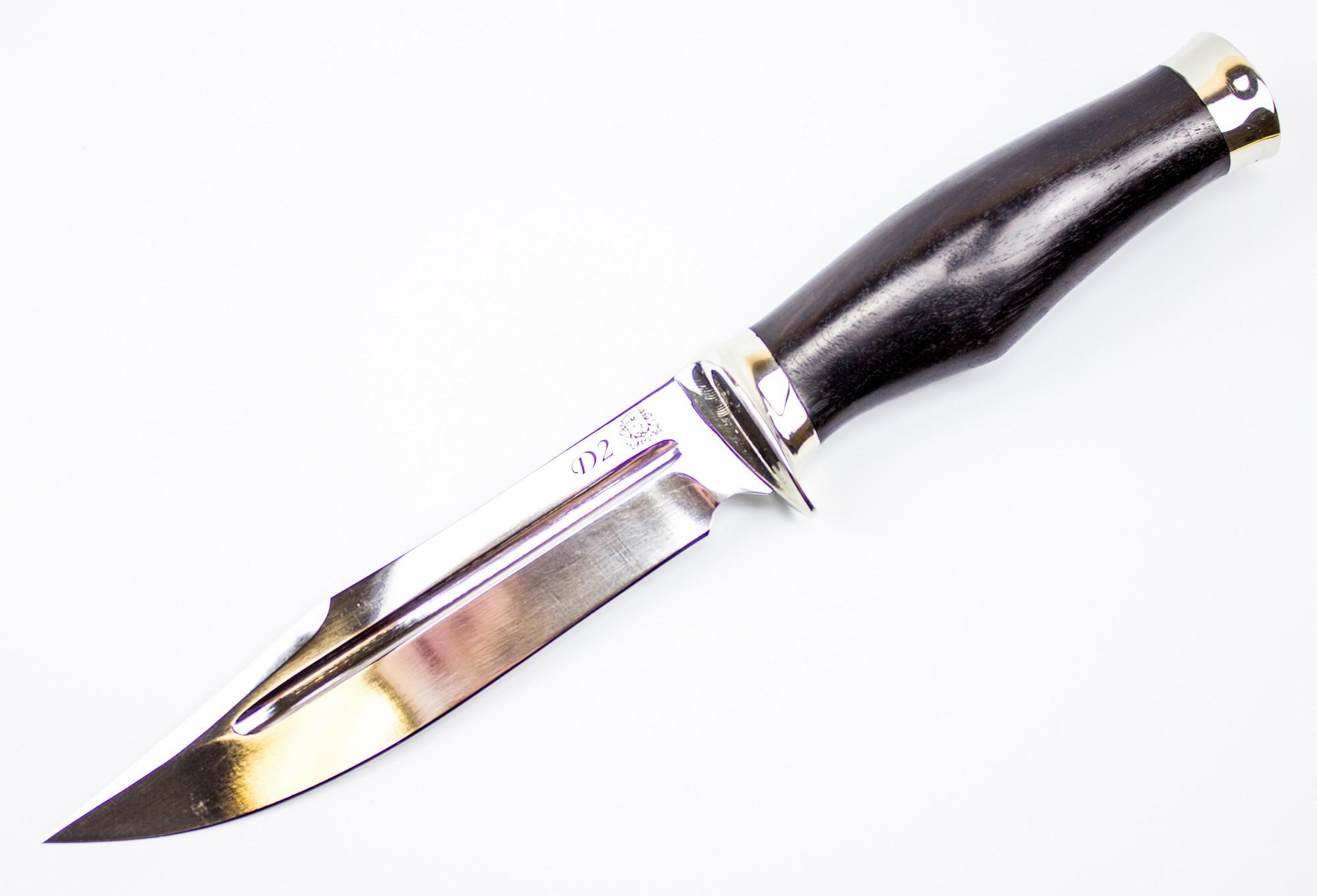 Военный нож Смерч-1, D2 от Мастерская Сковородихина